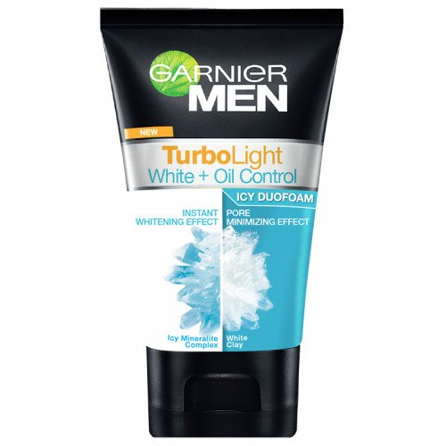 Buy GARNIER MEN Turbolight Oil Control ICY DUO FOAM 100 ML. in Bangkok service area | Big C Fresh Express ช้อปปิ้งออนไลน์ที่ BigC